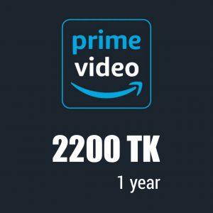 Prime Video 1 Year 2200 TK