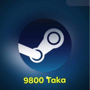 $100 Steam Wallet Code (US) 9800 TK
