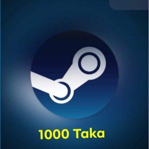 $10 Steam Wallet Code (US) 1000 TK